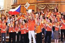 Cesta jabloneckého sboru Iuventus, gaude! při ZUŠ do Grazu v Rakousku se nedá nazvat jinak než vítězným tažením.  Co soutěž, to výhra.