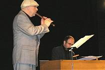 Jiří Stivín a Robert Hugo na zahajovacím koncertě Tanvaldského hudebního jara 2008