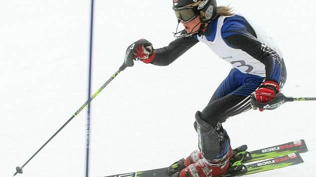 Republikový kvalifikační závod ve slalomu žáků  se jel na svahu Tanvaldského Špičáku.