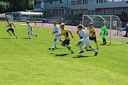 Fotbalový turnaj mládeže v Jablonci nad Nisou, pro kategorii U13 a U15.