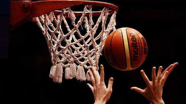 Basketbalové utkání. Ilustrační snímek.