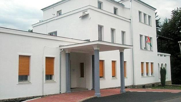 Vila Schowanek Jiřetín pod Bukovou.