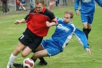Fotbalisté Zásady vyhráli v 6. kole derby v Železném Brodě v poměru 4:3. Podle slov domácího trenéra Jaroslava Gernata proměnili hosté tři šance ze čtyř a za svou produktivitu si tři body zasloužili i přesto, že Brod měl více ze hry.