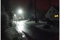 Bílé světlo na Maršovicích.
