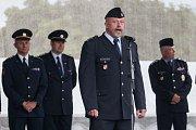 Ondřej Musil, náměstek pro službu kriminální policie a vyšetřování, před zahájením programu.