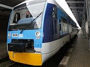 Vlak ČD v Liberci