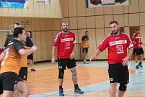 Jablonečtí hráči na domácí palubovce bojovali proti soupeři z Liberce.