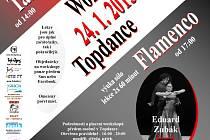 Sobotní workshop tango argentino a flamenco v TOPDANCE