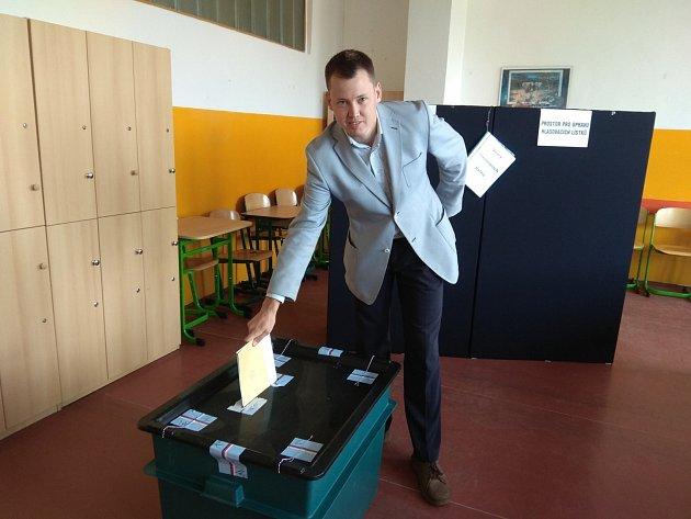 Lídr hnutí Společně pro Jablonec Jakub Macek.