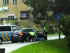 Policejní zásah v Tanvaldě