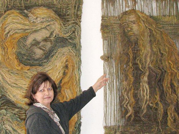 Dana Rezková a její tapisérie Rusalka a Vodník