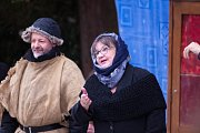 Venkovní představení Vánoční hry aneb O tom slavném narození.