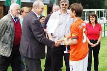 O víkendu probíhal na hrištích jabloneckého okresu za účasti 8 týmů 5. ročník Krejča Cup 2008 - fotbalového turnaje dorostenců.
