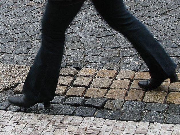 Chodníky - ilustrační snímek.