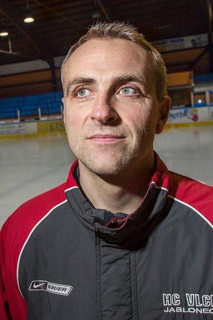 Dorostenecká liga. HC Vlci Jablonec - Frýdlant 9:2. Trenér Jindřich Zeman.