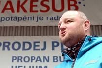Jaroslav Kočárek, potápěčský instruktor Snakesub