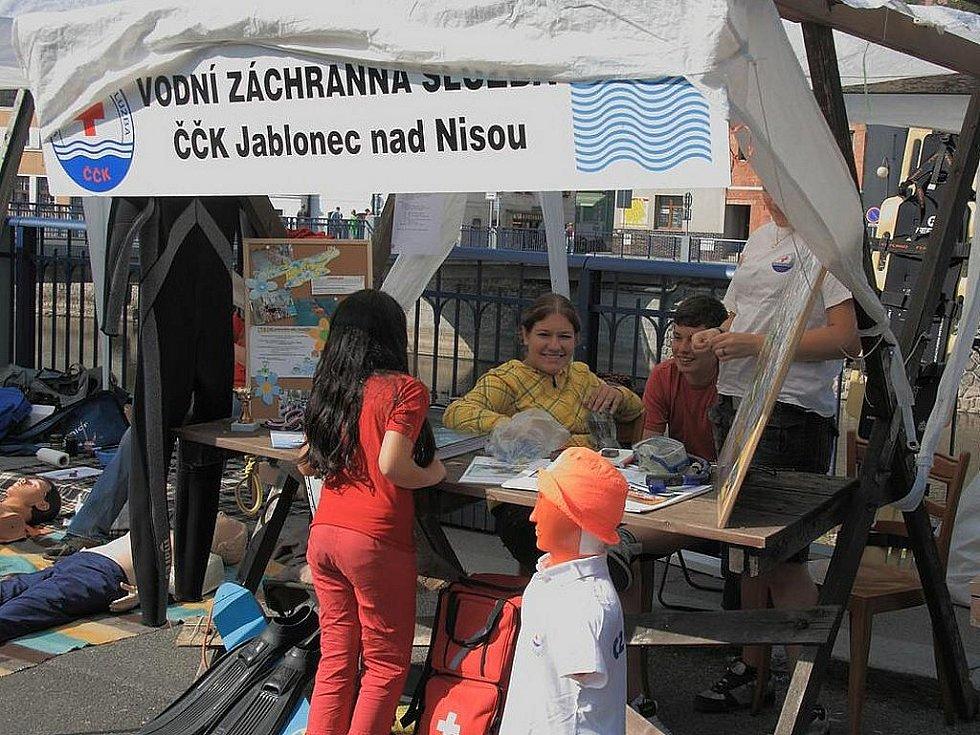 Den Integrovaného záchranného systému Libereckého kraje v Železném Brodě.