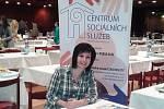Sociální pracovnice z Centra sociálních služeb Jablonec nad Nisou Jana Pácaltová.