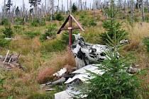 Kříž letců na Smědavské hoře