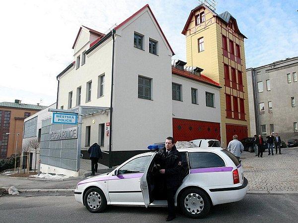 Městská policie Jablonec nad Nisou.