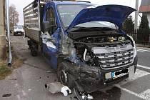 Renault Master po nehodě.