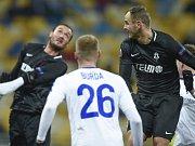 Fotbalisté Jablonce vyhráli v Kyjevě.