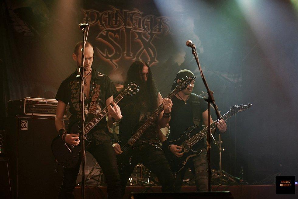 Jablonecká heavy metalová skupina Dangar Six.