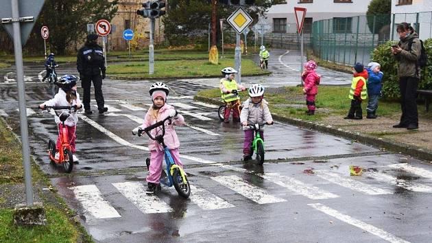 Dětské dopravní hřiště v Jablonci nad Nisou