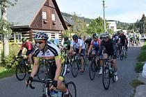 V Malé Skále a okolí se konal již 27. ročník tradičního závodu v silniční cyklistice 3x kolem Kalicha