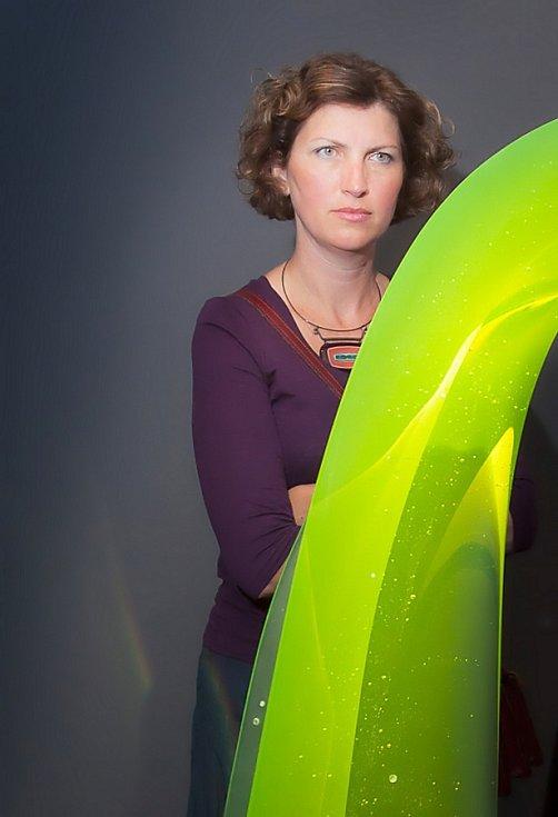 Výstava 70 let skleněné plastiky