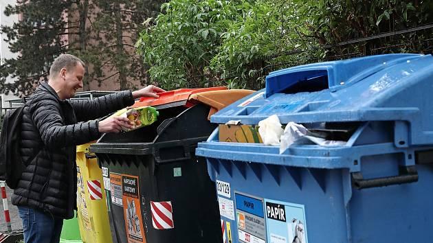 Poplatek za odpad zůstává ve Znojmě stejný