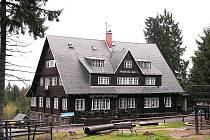 Prezidentská chata v Jizerských horách.