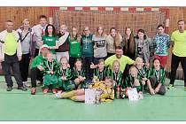 Úspěšný tým jabloneckých Čertic, přípravka FK Jablonec, se na halovém turnaji v Železném Brodě neztratil.