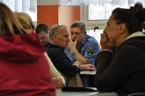 KROMĚ vedení města na setkání nechyběli úředníci magistrátu a zástupce Městské policie.