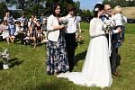 Svatba v Jablonci, na kterou se bude dlouho vzpomínat.
