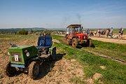Traktoriáda ve Vyskeři u Turnova