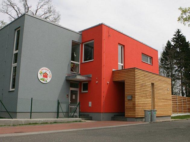 Školka v areálu jablonecké Nemocnice.