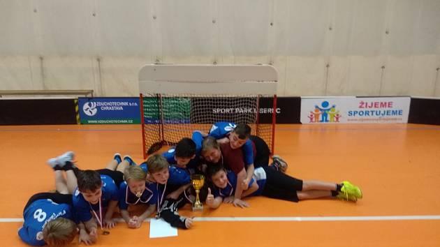Poprvé budou za Liberecký kraj bojovat na turnaji Čeps Cup, který je určený florbalistům ze základních škol, zástupci ze základní školy ve Smržovce.