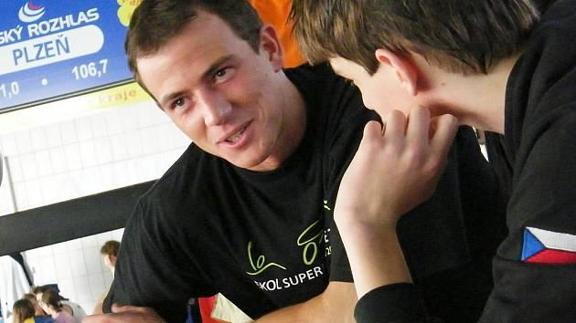 Jablonecký fyzioterapeut Roman Karpíšek.
