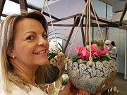 Euroregion Tour 2017, soutěž regionálních výrobců. 1. MÍSTO porota udělila výtvarnici Janě Kosařové za její keramiku.