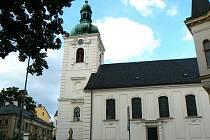 Starší snímek kostela sv. Anny