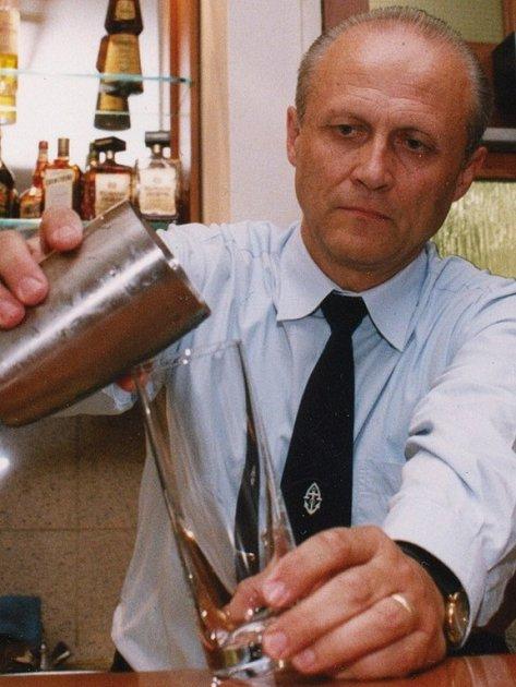 Pracující Alexander Mikšovic.