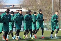 Fotbalisté Jablonce polykají první tréninkové dávky v novém roce.
