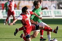 Jablonec v domácím utkání rozstřílel Slavii Praha 4:0 a posunul se v tabulce před Slovan Liberec na průběžné druhé místo v tabulce ligy.