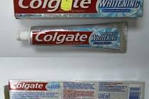 Hygienická stanice upozorňuje, že zubní pasta Colgate Whitening Advanced 100 ml, šarže 5138ZA10 není bezpečný výrobek.