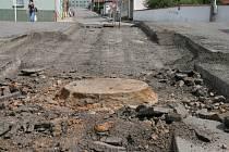 Oprava kanalizace - ilustrační snímek