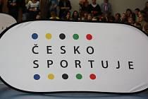 Logo projektu Česko sportuje
