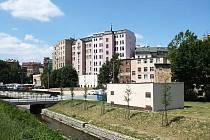 Město prodalo i dům na Podhorské, pohled od autobusového nádraží