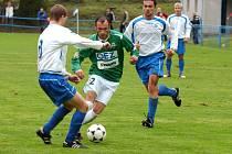 Filip Klapka se vrátil po zranění a odehrál v Novém Bydžově celý zápas.