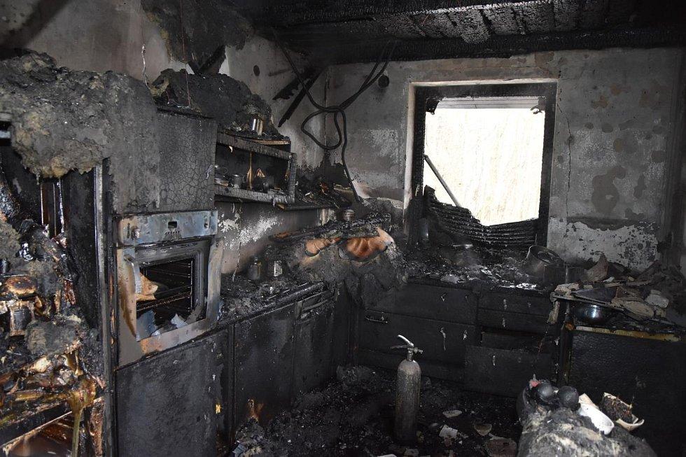 Zásah hasičů v Železném Brodě, Hrubé Horce